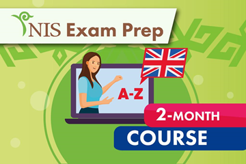 NIS Exam Prep - English- 2 month course