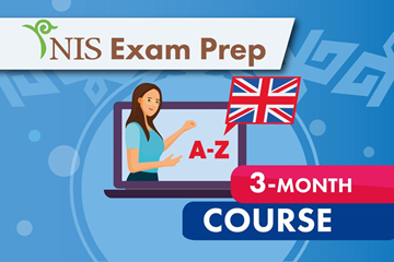 NIS Exam Prep - English- 3 month course
